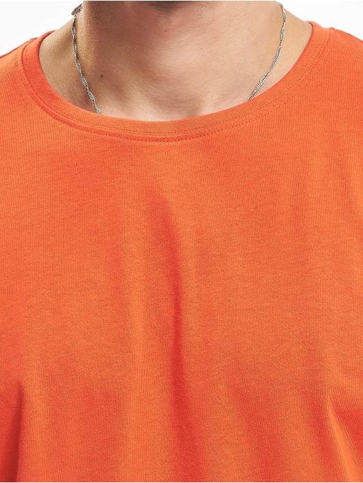 Urban Classics T-Shirt Shaped Long red