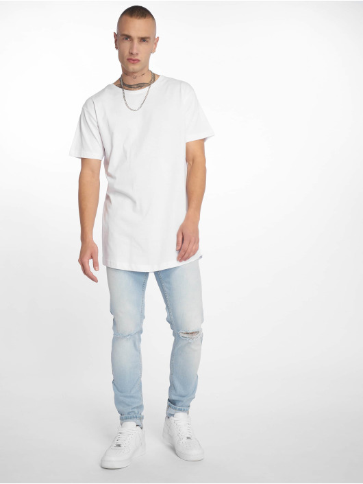 Urban Classics T-Shirt Shaped Long white