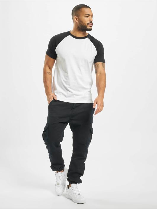 Urban Classics T-Shirt Raglan Contrast white