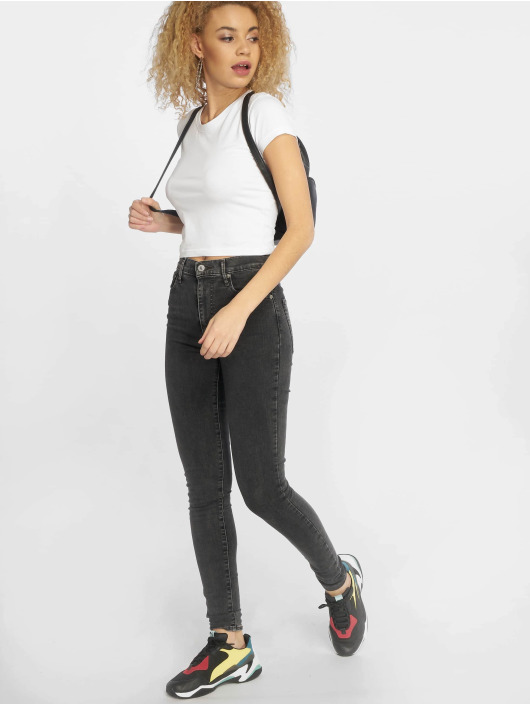 Urban Classics T-Shirt Stretch Jersey Cropped white