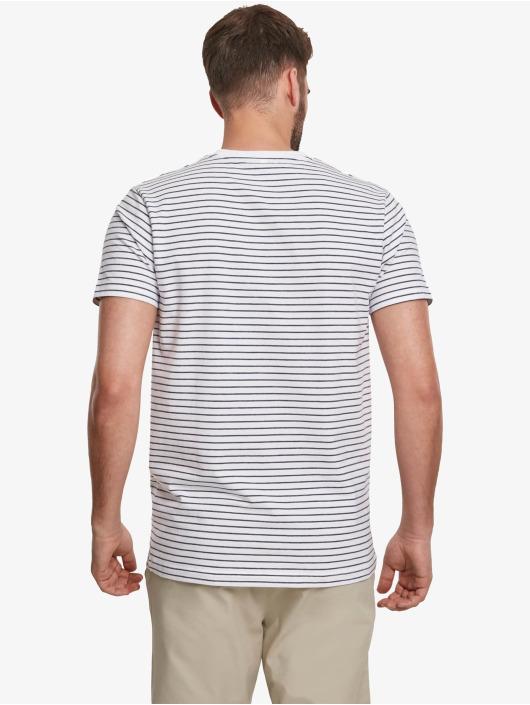 Urban Classics T-Shirt Basic Stripe white