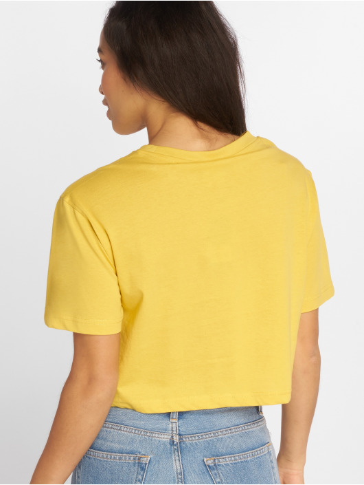 Urban Classics T-Shirt Short Oversized yellow