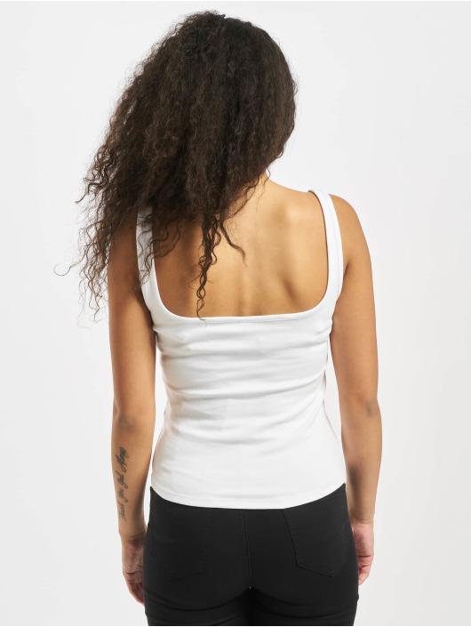 Urban Classics Top Ladies Wide Neck white