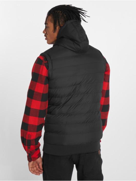 Urban Classics Vest Small Bubble Hooded black
