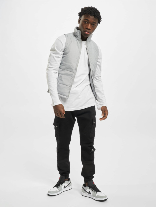 Urban Classics Vest Basic Light gray