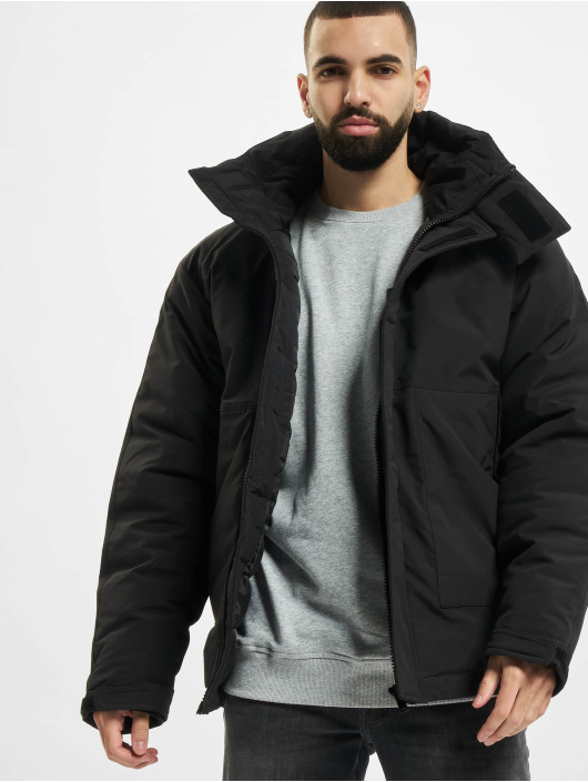 Urban Classics Winter Jacket Multipocket black