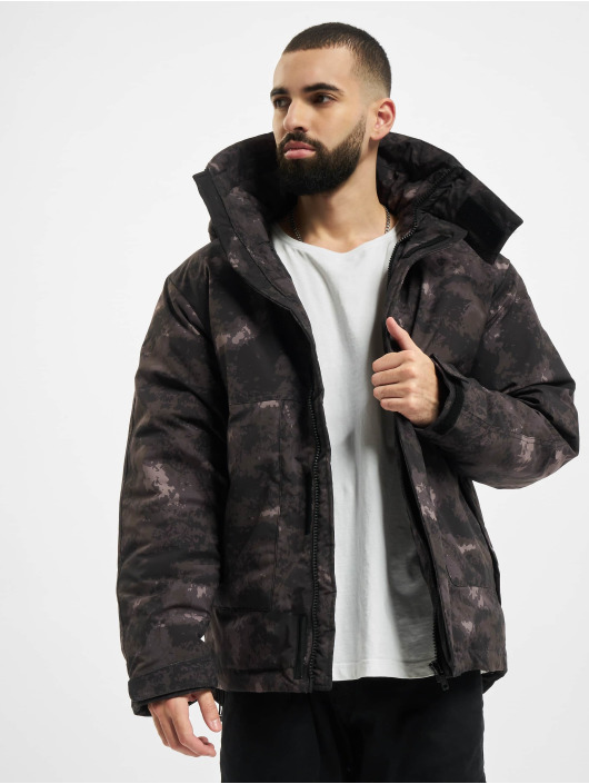 Urban Classics Winter Jacket Multipocket camouflage