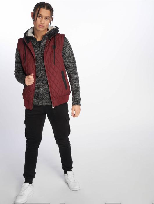 Urban Classics Zip Hoodie Winter Knit black