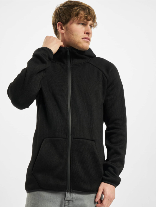 Urban Classics Zip Hoodie Knit Fleece black