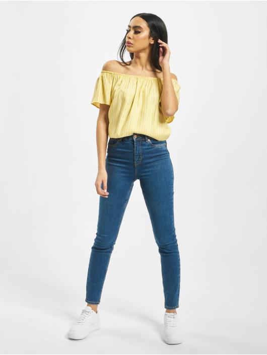 Urban Surface Blouse/Tunic Stripe Blouse yellow
