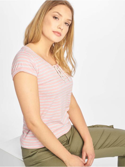 Urban Surface T-Shirt Stripe rose