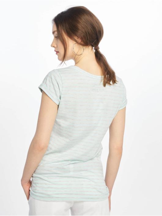 Urban Surface T-Shirt Stripe turquoise