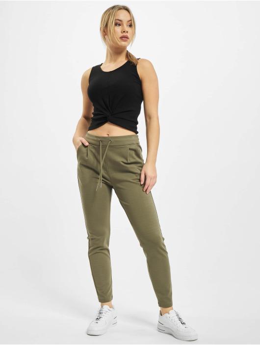 Vero Moda Chino pants vmEva Loose String olive