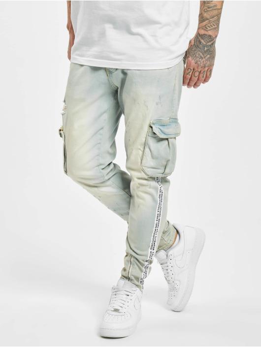 VSCT Clubwear Cargo pants Keanu Legbtmzip blue