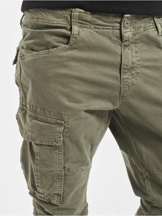 VSCT Clubwear Cargo pants Noah Cuffed khaki