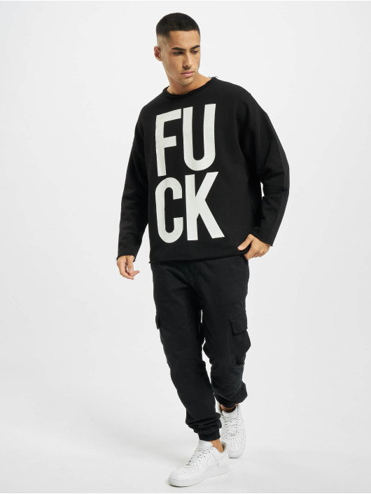 VSCT Clubwear Pullover F*ck black