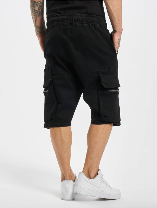 VSCT Clubwear Short Logan Denim Bermuda black