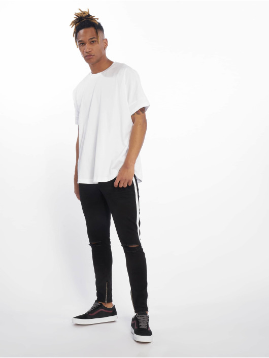 VSCT Clubwear Skinny Jeans Knox Stripe black