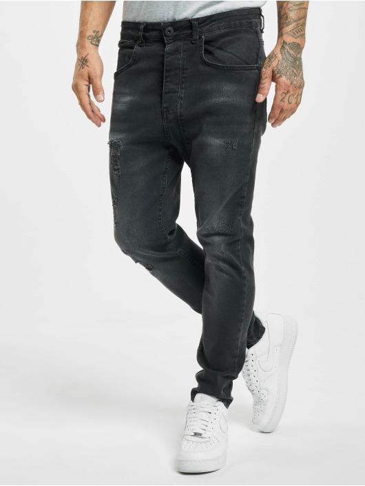 VSCT Clubwear Skinny Jeans Keanu Lowcrotch black