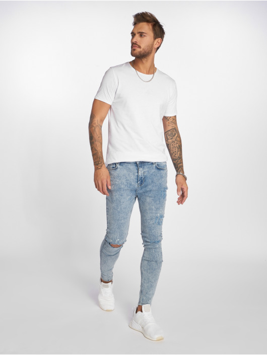 VSCT Clubwear Skinny Jeans Keanu Kneetcut `91 blue