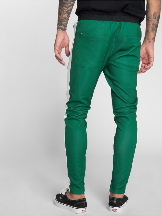 VSCT Clubwear Sweat Pant Stripe with Zip Pocket green