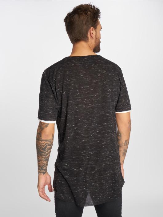 VSCT Clubwear T-Shirt 2 on 1 black
