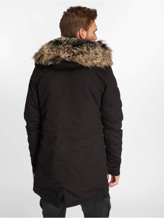 VSCT Clubwear Winter Jacket 2-Face black