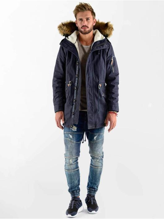 VSCT Clubwear Winter Jacket Luxury blue