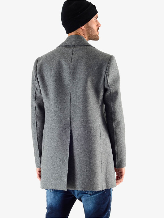 VSCT Clubwear Winter Jacket Sophisticated 2 BtnRows gray