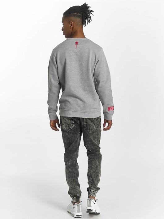 Who Shot Ya? Pullover WHSHTY gray