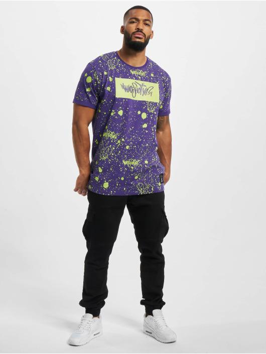 Who Shot Ya? T-Shirt W Zone purple