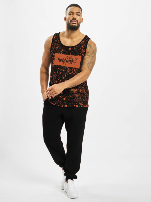 Who Shot Ya? Tank Tops W Zone black