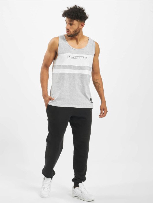 Who Shot Ya? Tank Tops Force gray