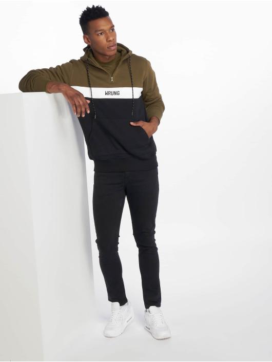Wrung Division Hoodie Kyo black