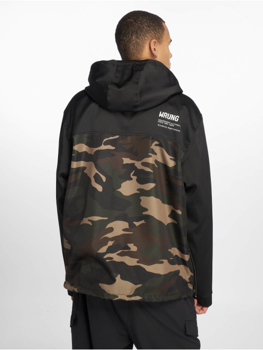 Wrung Division Lightweight Jacket Division Wnd camouflage