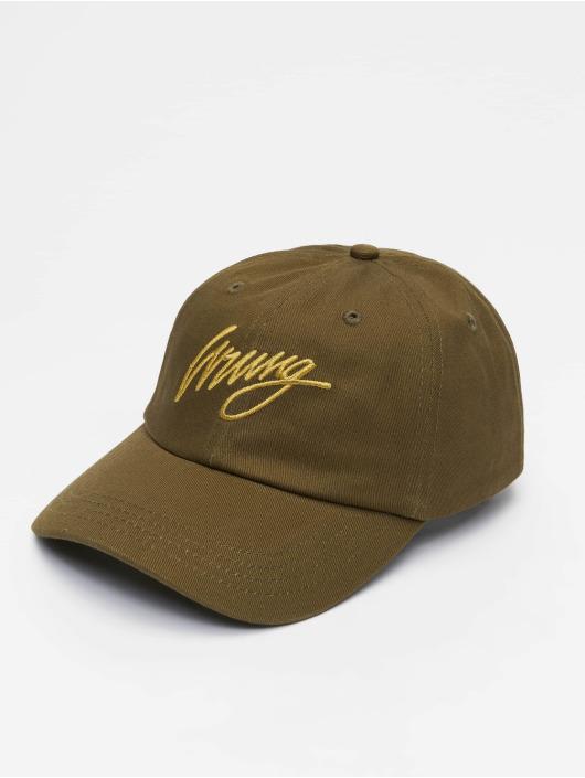 Wrung Division Snapback Cap Sign Logo khaki