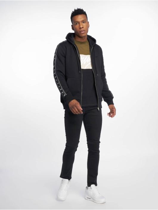 Wrung Division Zip Hoodie Ross black