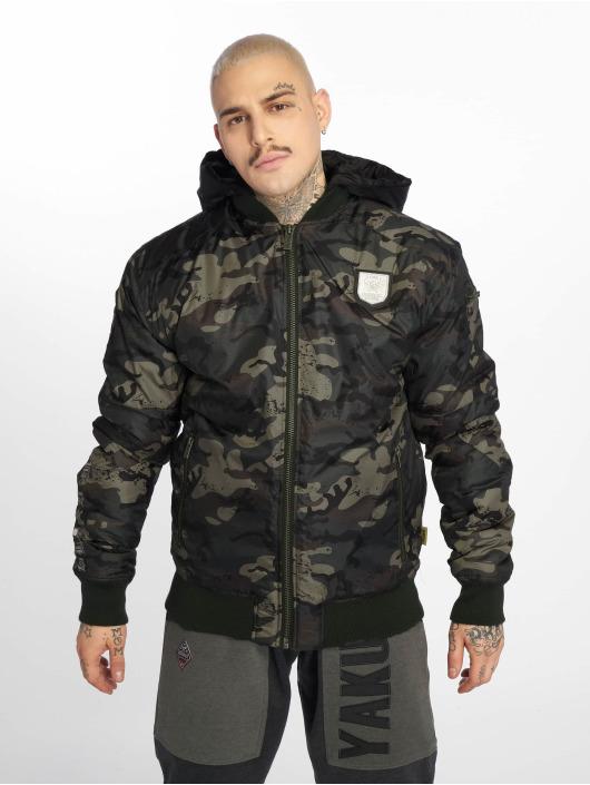 Yakuza Bomber jacket Rookie camouflage