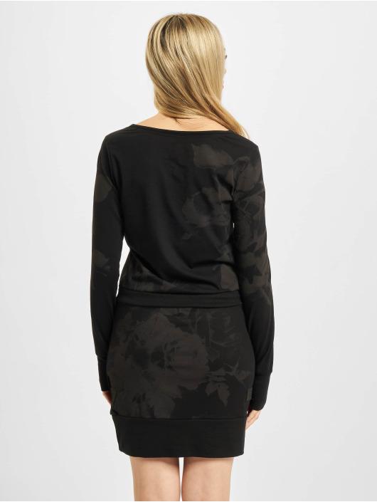 Yakuza Dress Florid black