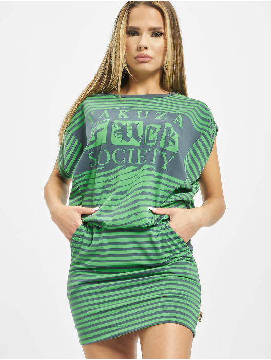 Yakuza Dress Trip green