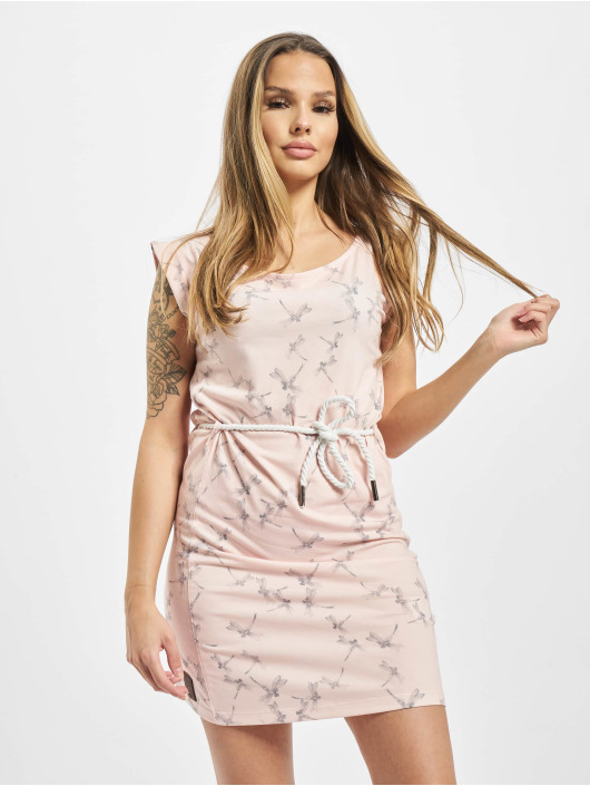 Yakuza Dress Dragon Fly Mini rose