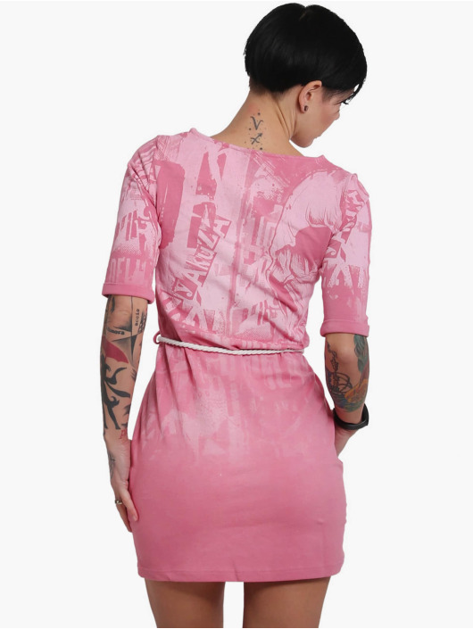 Yakuza Dress Dark Side rose