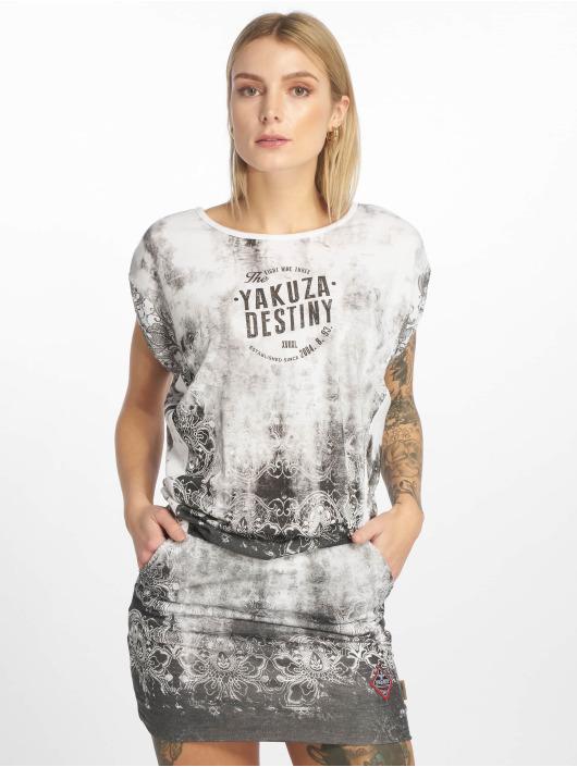 Yakuza Dress Gradient white