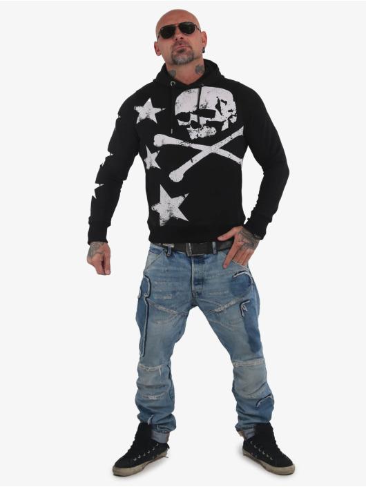 Yakuza Hoodie Overskulled black