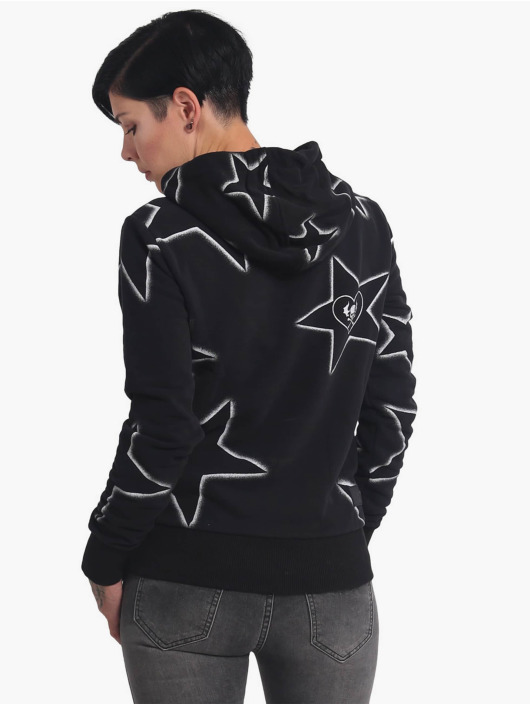 Yakuza Hoodie 893Starlet Cropped black