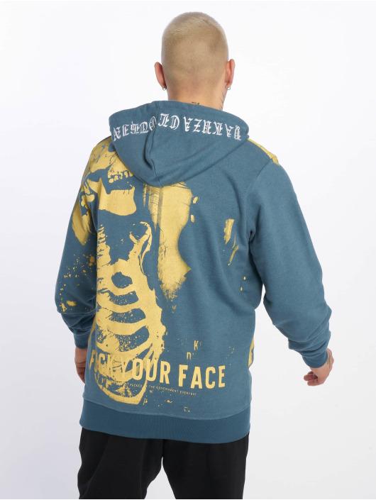 Yakuza Hoodie Xray blue