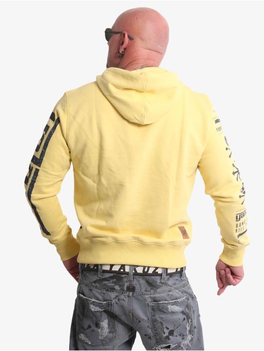 Yakuza Hoodie Guns Vs People yellow