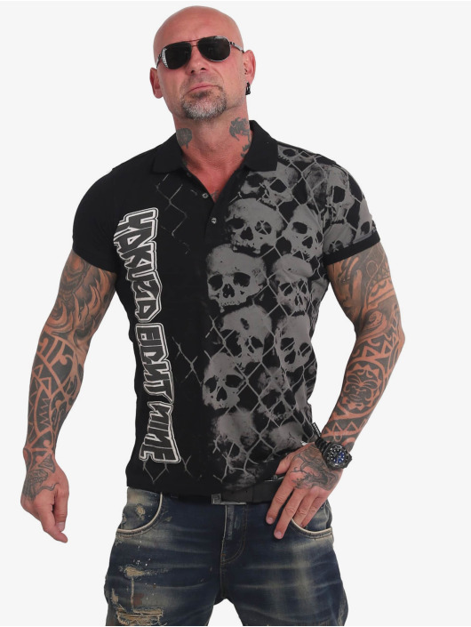 Yakuza Poloshirt Killing Fields black