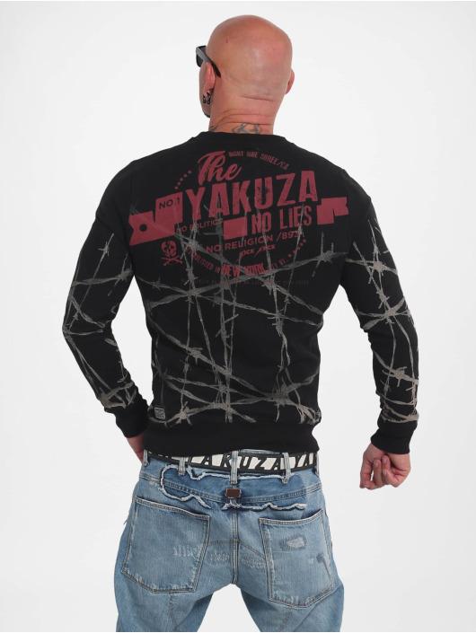 Yakuza Pullover Barbwire black