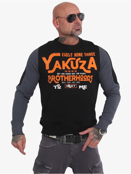 Yakuza Pullover Brotherhood black